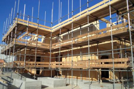 Condominio in legno bbs prefabbricato piossasco torino for Finito piano piano interruzione sciopero piani