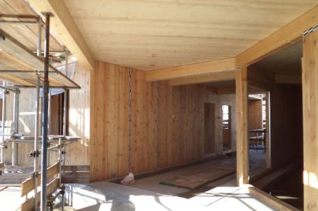 Condominio in legno bbs prefabbricato piossasco torino for Piani di struttura esterna
