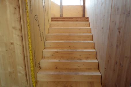 Condominio in legno bbs prefabbricato piossasco torino - Scale in legno prefabbricate ...