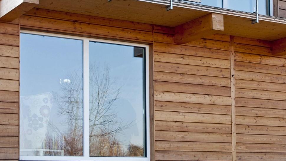Casa indipendente in legno bbs a due piani a cherasco for Piani di costruzione casa