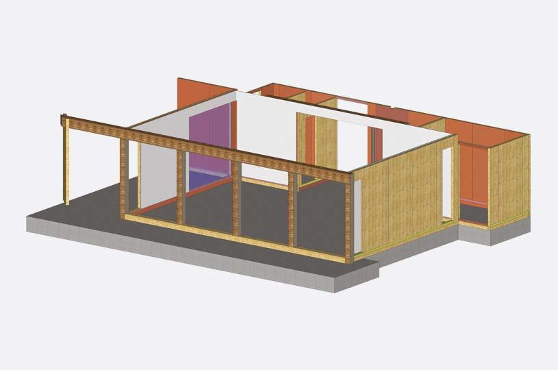 Servizi per costruire con il legno x-lam BBS - calcolo strutturale