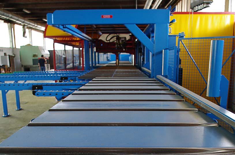 Macchina Hundegger per taglio CNC di elementi in legno x-lam BBS