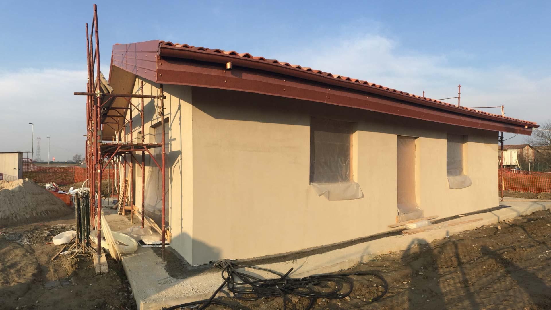 Casa unifamiliare in legno bbs corana pavia mozzone bs for Casa a 1 piano