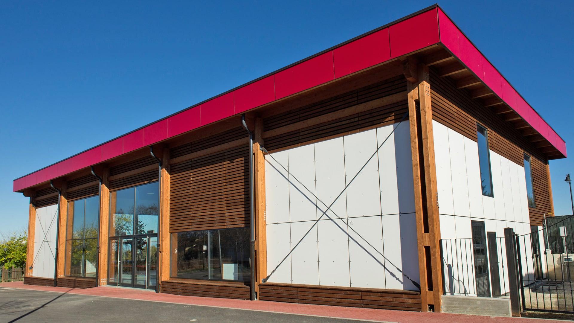 Capannoni legno xlam BBS e strutture industriali - Mozzone Building System