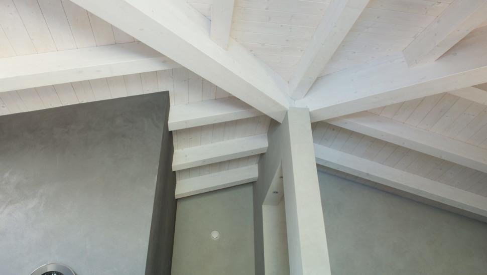 Villetta in legno x lam bbs a cherasco cuneo un piano - Tetto in legno interno ...