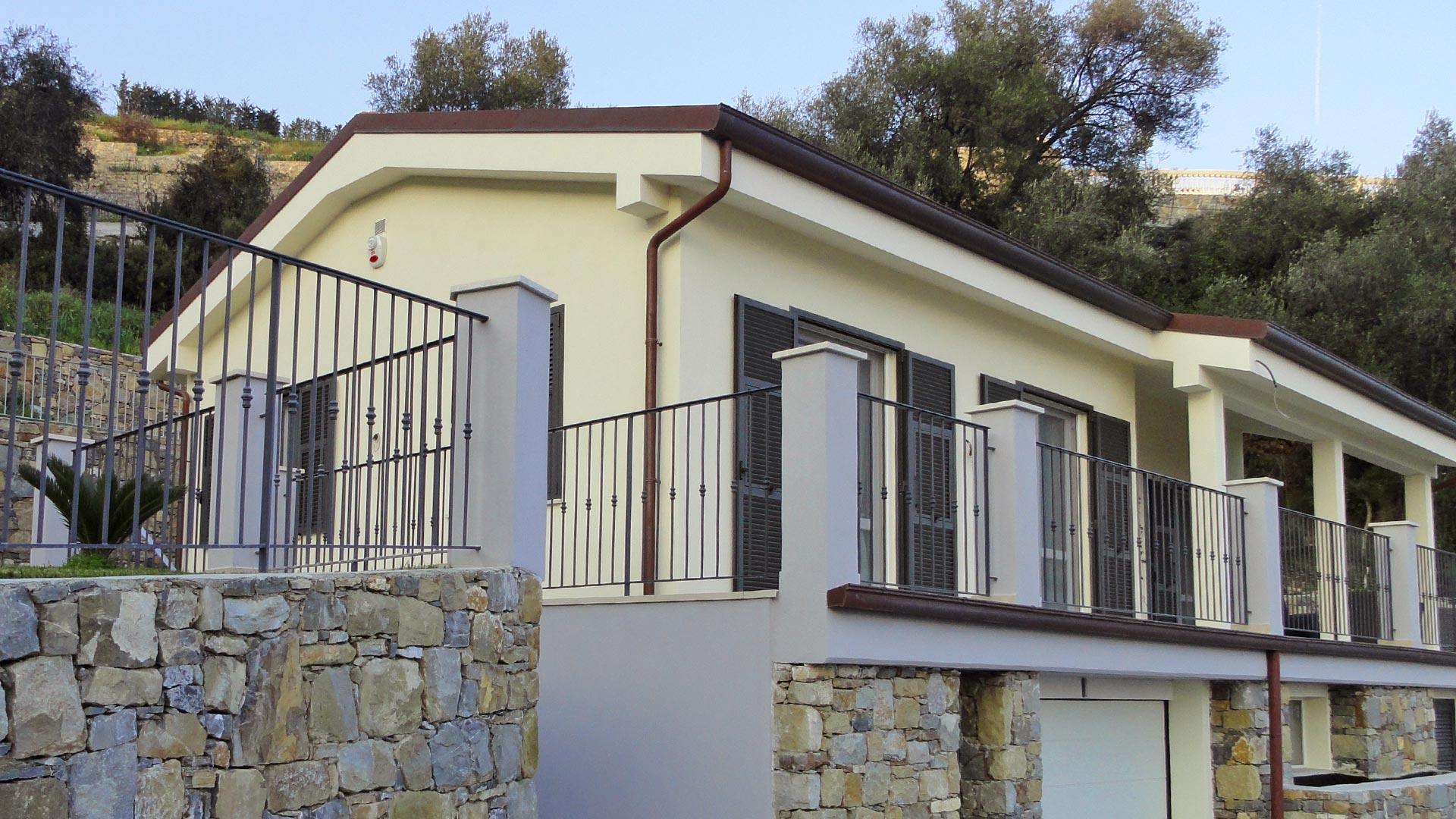Casa al mare in legno xlam bbs a ospedaletti liguria - Affittare una casa al mare ...